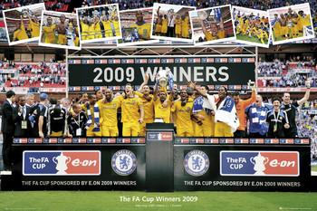 Juliste Chelsea - fa cup winners 2009
