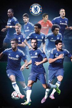 Juliste  Chelsea FC - Collage 14/15