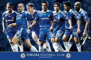 Juliste Chelsea - players 08 09