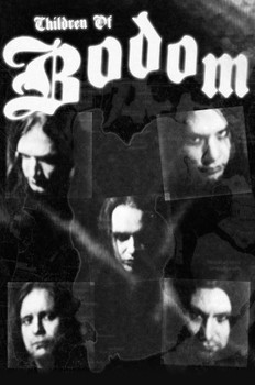 Juliste Children of Bodom - group