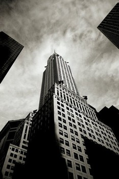 Juliste Chrysler building - perspective