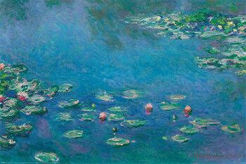 Juliste Claude Monet - Waterlillies