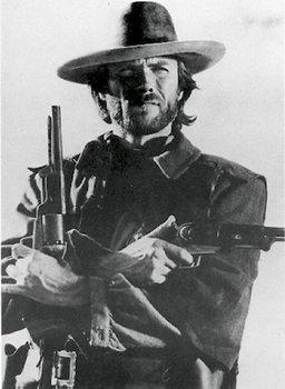 Juliste Clint Eastwood (B&W)