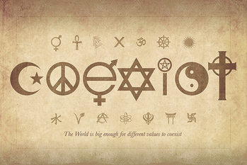 Juliste  Coexist - Maxi Poster