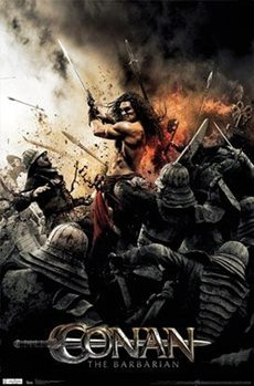 Juliste  Conan The Barbarian - Sword 2011