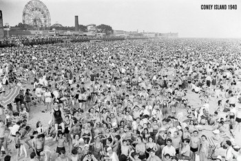 Juliste Coney Island 1941