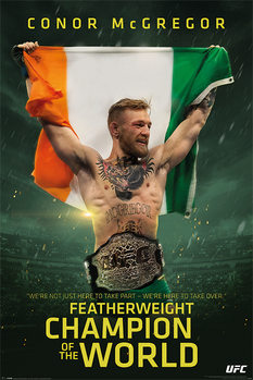 Juliste  Conor McGregor - Featherweight Champion