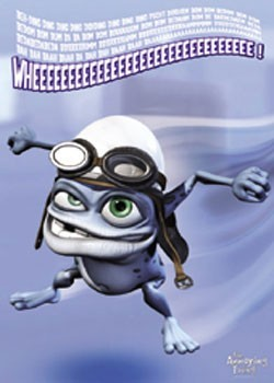 Juliste Crazy Frog - Wheeee!