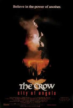 Juliste CROW II: ENKELTEN KAUPUNKI