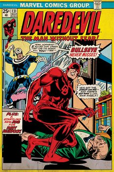 Juliste Daredevil - Bullseye Never Misses