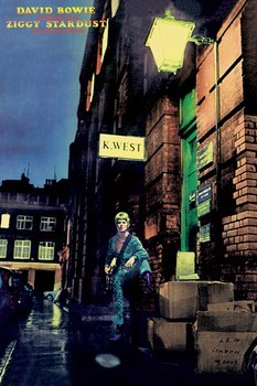 Juliste  David Bowie - ziggy stardust