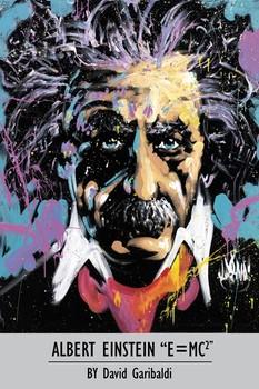 Juliste  David Garibaldi - Albert Einstein