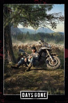 Juliste Days Gone - Key Art