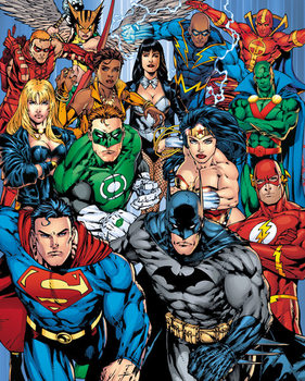 Juliste DC Comics - Cast