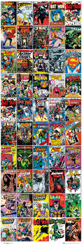 Juliste DC COMICS - covers