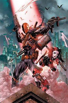 Juliste  Dc Comics - Deathstroke & Harley Quinn
