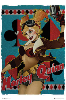 Juliste DC Comics - Harley Quinn Bombshell