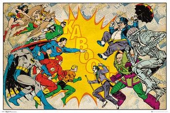 Juliste DC Comics - Heroes Vs Villains