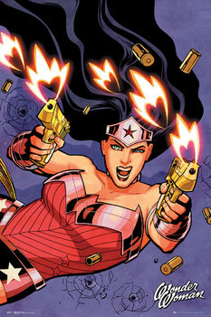 Juliste DC Comics - Wonder Woman Shooting