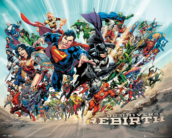 Juliste DC Universe - Rebirth