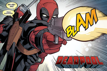Juliste  Deadpool - Blam
