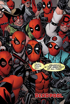Juliste  Deadpool - Selfie