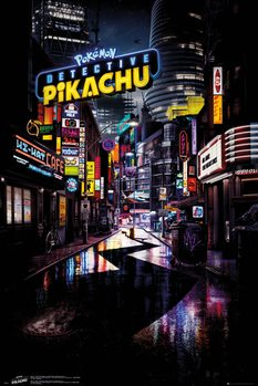Juliste  Detective Pikachu - Teaser
