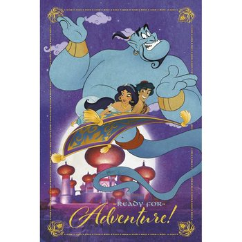 Juliste Disney - Aladdin