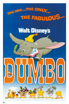 Juliste  Disney - Dumbo