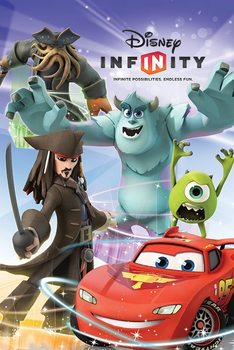 Juliste DISNEY INFINITY - group