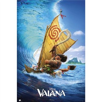 Juliste Disney Vaiana Boat
