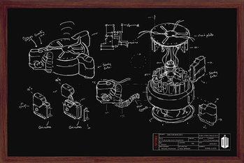 Juliste Doctor Who - Chalk Board