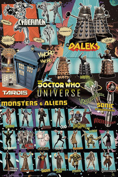 Juliste  Doctor Who - Characters