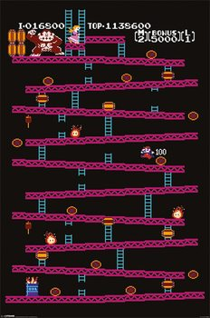 Juliste Donkey Kong - NES