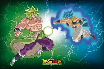 Juliste Dragon Ball - Broly VS Gogeta