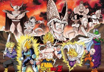 Juliste Dragon Ball - DBZ/ Group Cell Arc
