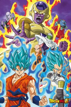 Juliste Dragon Ball - God Super