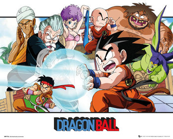 Juliste Dragon Ball - Landscape