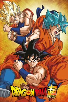 Juliste Dragon Ball Super - Goku