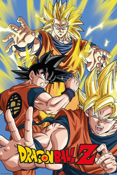 Juliste Dragon Ball Z - Goku