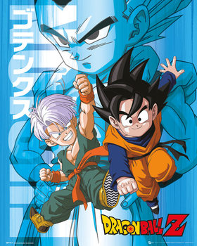 Juliste  Dragon Ball Z - Trunks and Goten