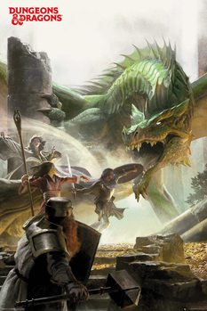 Juliste  Dungeons & Dragons - Adventure