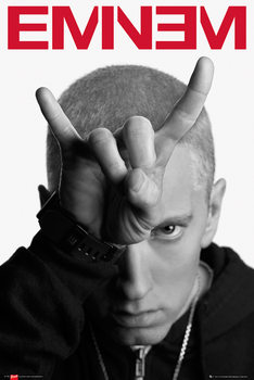 Juliste  Eminem - horns