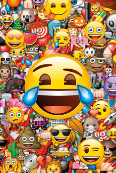 Juliste Emoji - Collage (Global)