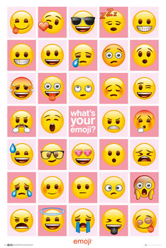 Juliste  EMOJI - What's Your Emoji