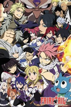 Juliste Fairy Tail - Season 6 Key Art