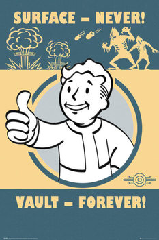 Juliste Fallout 4 - Vault Forever