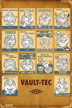 Juliste Fallout 4 - Vault Tec Compilation