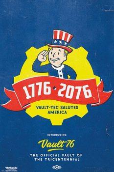 Juliste  Fallout 76 - Tricentennial