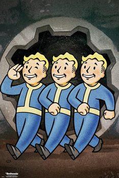 Juliste Fallout 76 - Vault Boys